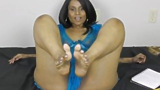 Horny Lily Foot Job Tamil
