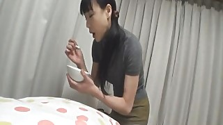 Miho Wakabayashi Plays With Her Pussy And Sucks Di - More At Slurpjp Com