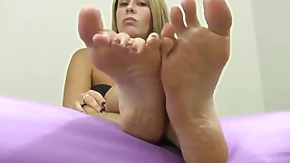 Feet Pampering And Femdom Foot Fetish Porn