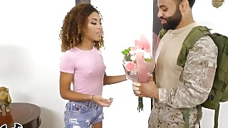 Bangbros - Kendall Woods Shows The Troops Some Luckby Fucking A Soldier