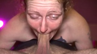 Ginger Milf Ivy 69ing Hubby Until His Cock Throbs Cum Into Her Mouth