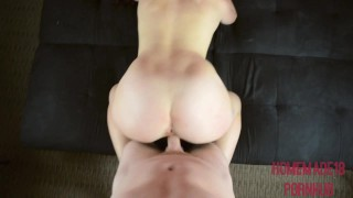 My Massive 18 Year Old Tits And Ass Bouncing On Your Cock Im Cum Covered