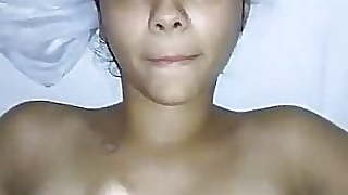 Young Girl Swallows