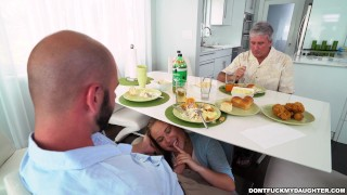 Alyssa Cole Gets Her Way With Daddys Friend On Dont Fuck My Daughter