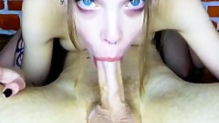 Many Strongly Pulsating Cum In The Mouth And Throat - Blowjob By Mihanika69