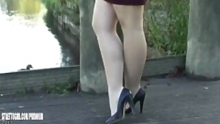 Leggy Lauryn Makes Your Shoe Fetish Rise Until Your High Heel Juices Flow