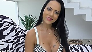 Bangbros - Two Dicks Twice The Pleasure For Brazilian Babe Analine