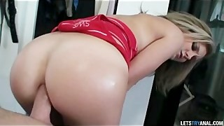 Sexy Young Teen Has Her Virgin Ass Fucked For The First Time Ever