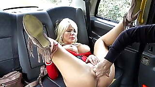 Babe, Funny, Mature, Milf, Big Tits, Mom, Taxi, Hungarian