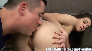Cute Teen Gia Paige Gets Tight Ass Filled With Cum Allanal