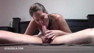 Azzurra Stuffing Her Mouth In 69