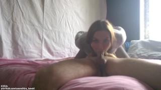Teen No Hands 69 Blowjob With Cum In Mouth