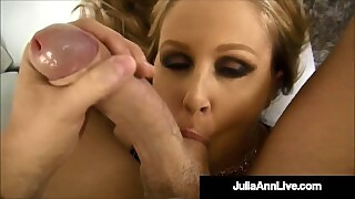 Smoking Hot Cougar Julia Ann Sucks And Strokes Pov Cock