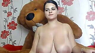 Huge Bulgarian Camgirl