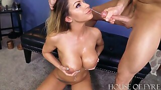 Reluctant Teacher Gets Taught A Lesson Brooklyn Chase And Laz Fyre