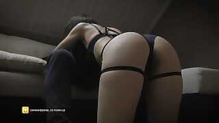 I Tease Him With My Hot Lingerie - Diana And Daniel