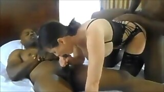 Dirty Talking To Milf Gangbang