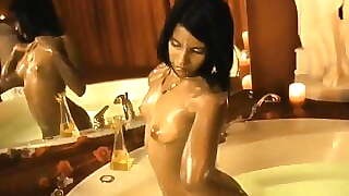 Indian Babe in the Exotic Bath