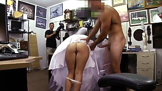 Bitter Bride Fucks Pawn Shop Owner After The Groom Cheats