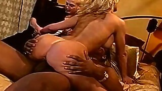 Interracial 3some For Sexy Blonde Swinger Wife