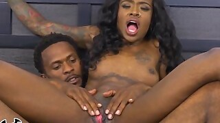 Bangbros - Black On Black Bday Action With Lexi Deep And Her Boo