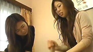 Cfnm Jav Clothed Women Give Great Handjob With Huge Cumshot