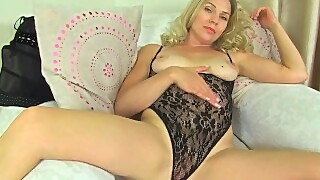 British Milf Abi Teases You With A Slow Striptease