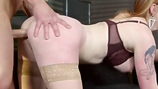 Privatecom - Gorgeous Redhead Carly Rae Fucks At Breakfast