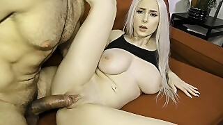 Sislovesme - Teen Stepsis With Huge Tits Gets Fucked
