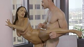 Toughlovex Koach Karl Teaches Sofi Ryan The Art Of Yoga