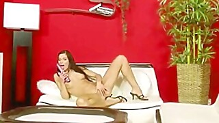fingers and toy for pussy Eva Slovikova