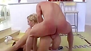 Tightest anal stars share 1 lucky cock!!