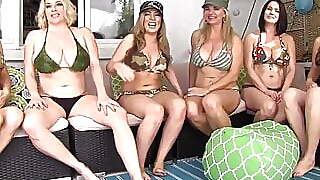 Penthouse Pet Jelena Jensen Has Smoking Hot 6 Girl Orgy
