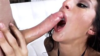 Throated Destiny Loves Throating A Huge Dick